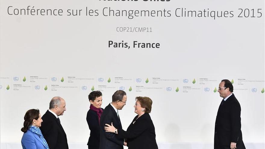 Bachelet reivindica los océanos en la lucha contra el cambio climático