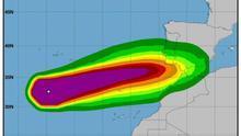 Los pronósticos alejan al huracán 'Leslie' de Canarias.