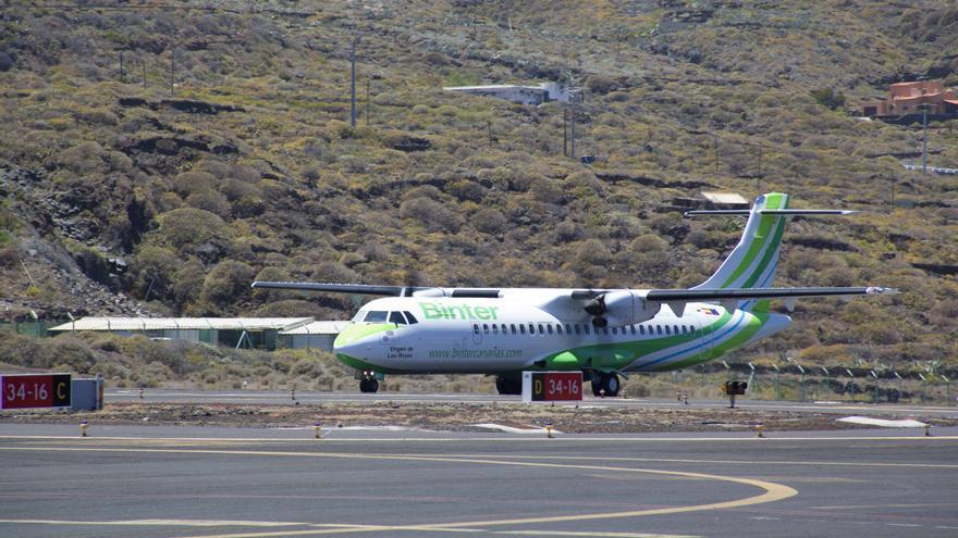 Avión ATR 72-600  de Binter.