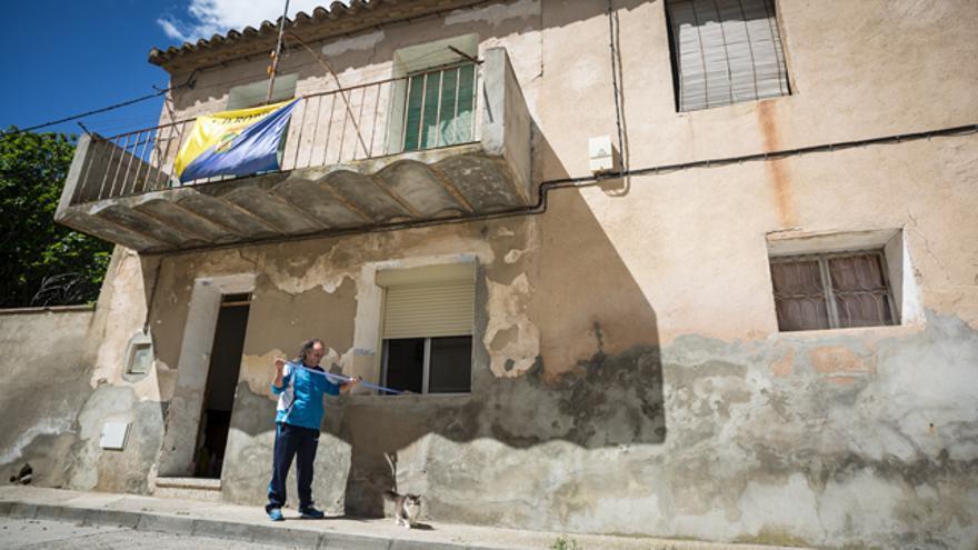 José María vive en Robres desde 2007, tras pasar 40 años en Zaragoza