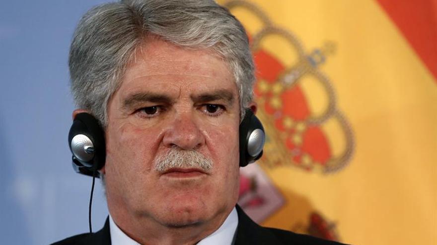 Dastis: No admitiremos nada que perjudique a España en relación a Gibraltar
