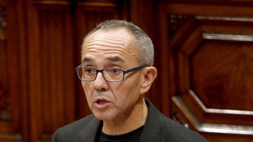 El portaveu parlamentari de Catalunya Sí que es Pot, Joan Coscubiela