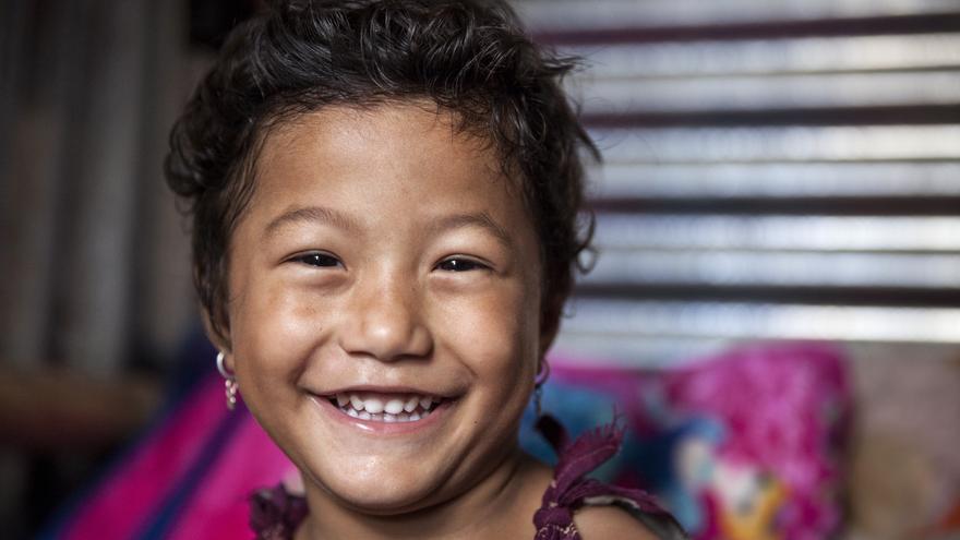 Krishla seis meses después del terremoto (Kishor K. Sharma/ActionAid)