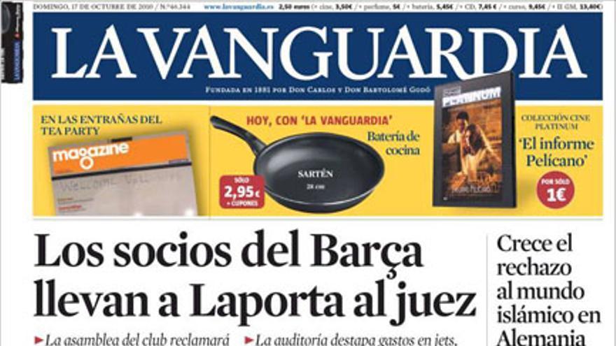 De las portadas del día (17/10/2010) #9