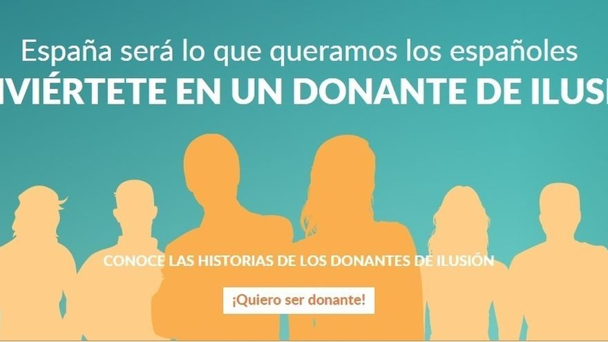 """Ciudadanos recurre al 'crowdfunding' para financiar su campaña: """"Conviértete en donante de una ilusión"""""""