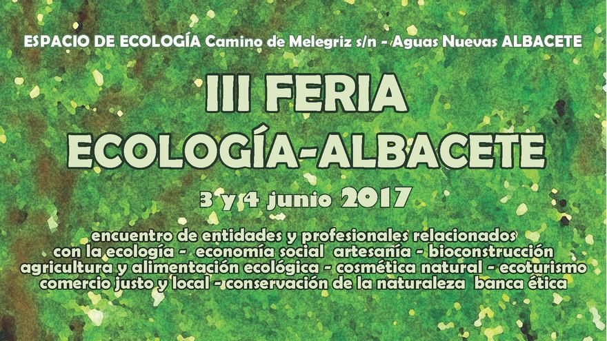 Cartel de la III Feria de Ecología de Albacete