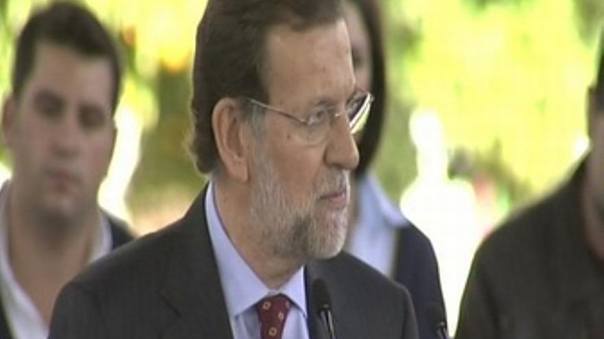 """Rajoy: """"Los datos del paro son insoportables"""""""