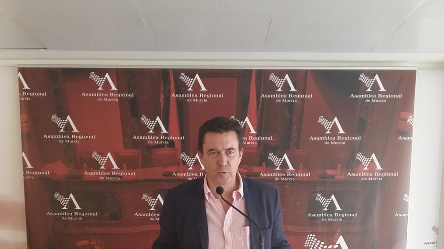 El diputado de Ciudadanos en la Asamblea Regional, Juan José Molina