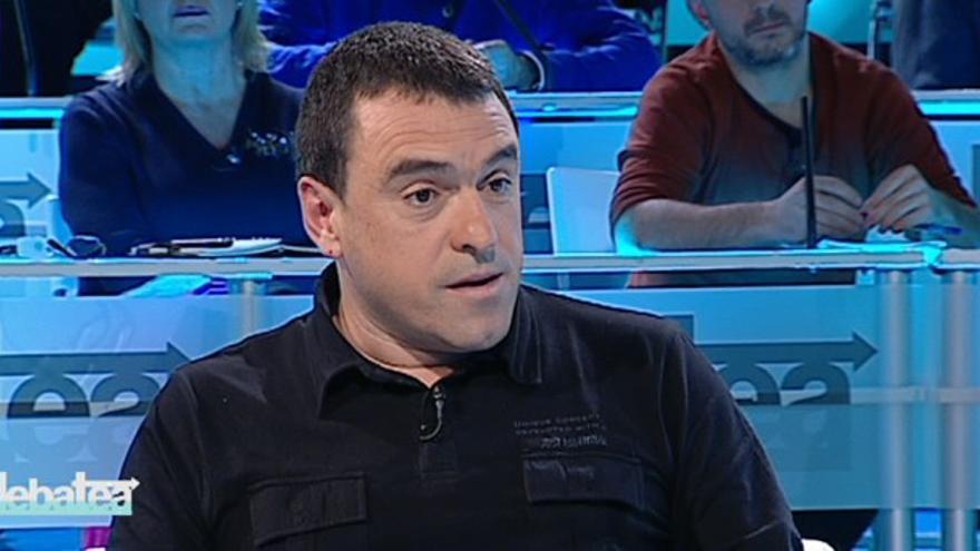 Joseba Villarreal, responsable de Negociación Colectiva de ELA. /Imagen tomada de etb.com.