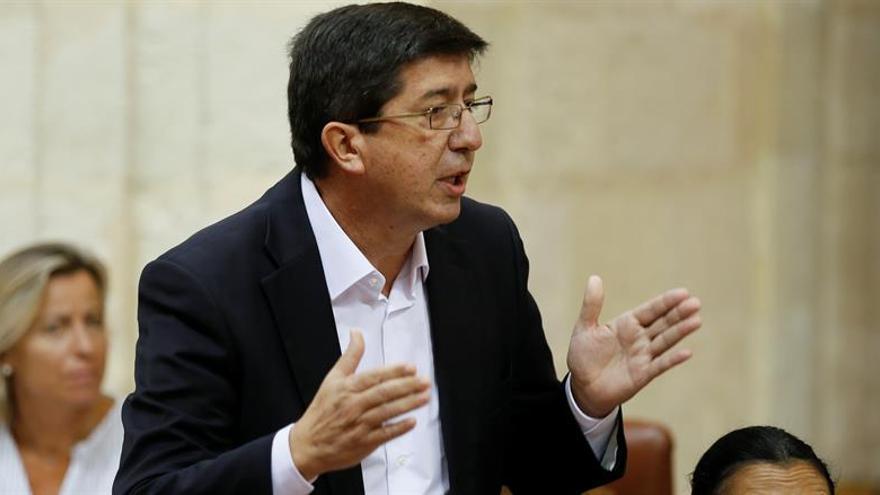 C's sitúa responsabilidad de los cursos en Chaves y Griñán y excluye a Díaz