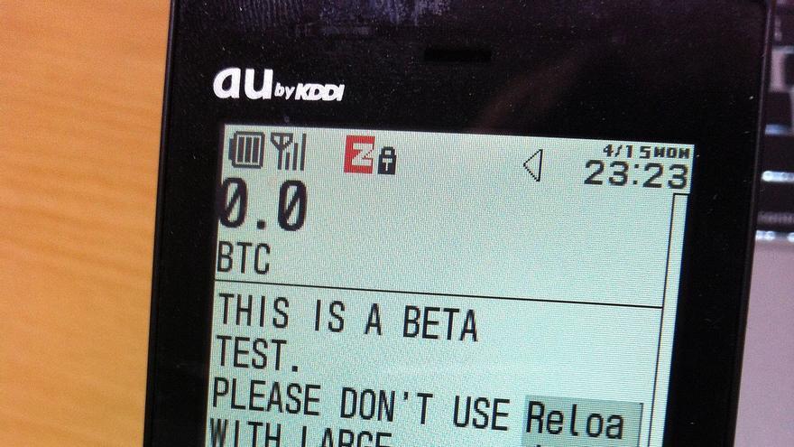 Los bitcoines serán enviados por sms a los teléfonos móviles de los usuarios