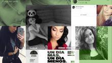 Imágenes de perfil de las cuentas falsas que interactuaron con el perfil de Facebook del Ministerio de Sanidad, eliminadas por la red social tras la denuncia del Gobierno.