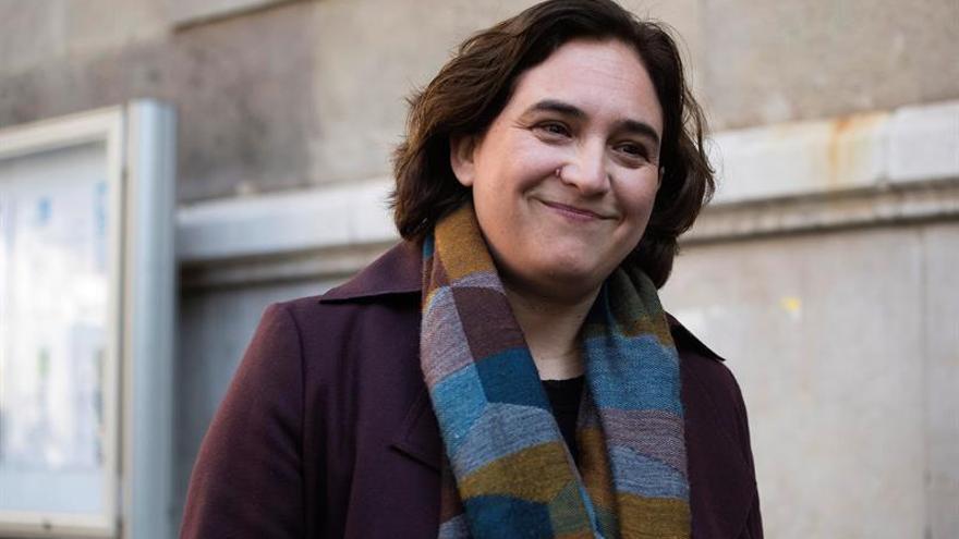 Ada Colau, alcaldesa de Barcelona desde 2015.