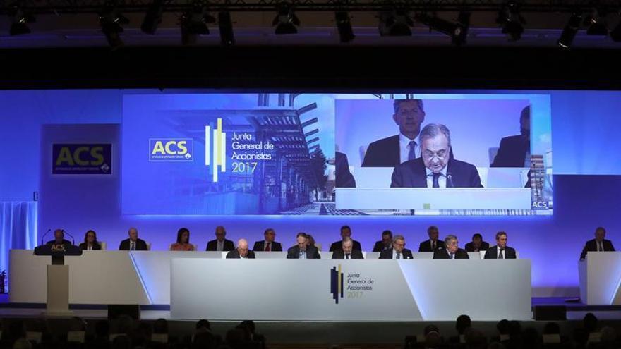 El consejo de la constructora ACS tiene la mayor media de edad del Ibex.