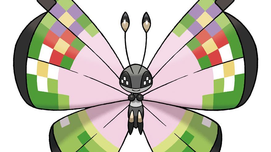 Vivillon con Motivo Fantasía Pokemon X Pokemon Y