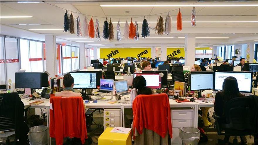 Redacción de Buzzfeed en EEUU