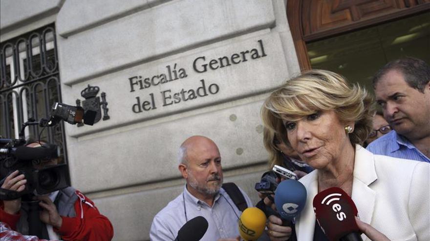 """Aguirre afirma que la Agencia Tributaria """"ya está tardando"""" en decir quién filtró su renta"""