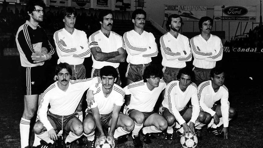 Formación del CD Tenerife de la temporada 1980/1981.