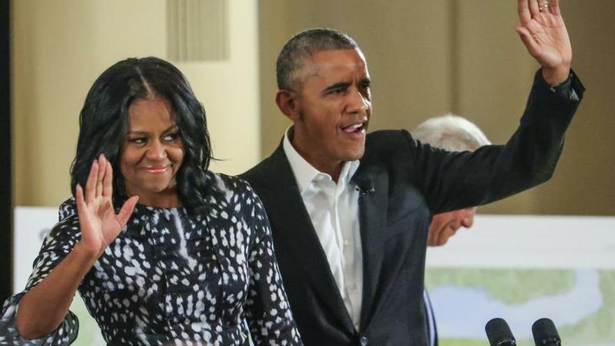 Los Obama llegan a un acuerdo para producir pódcast exclusivos para Spotify