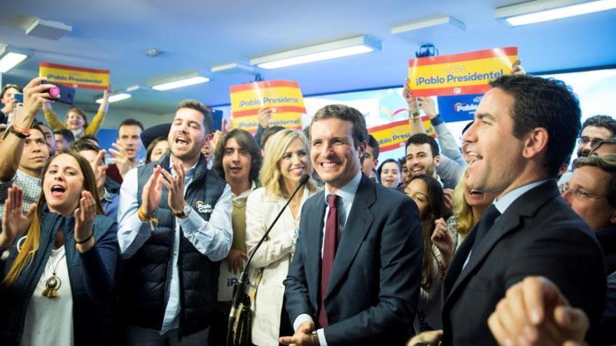 """Casado: los votantes del PSOE vieron en el debate que Sánchez es """"invotable"""""""