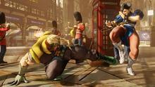 Capcom muestra la escena de introducción de Street Fighter V