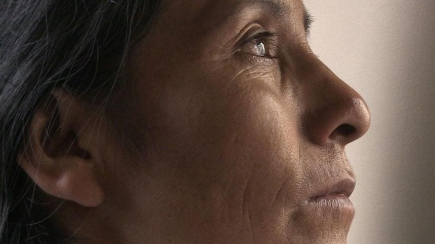 Máxima Acuña, defensora ambiental peruana. Imagen de lamula.pe cedida para el informe El riesgo de Defender.