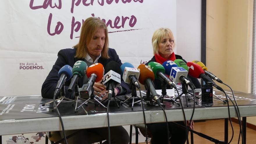 La candidata de Podemos en Ávila desvela que la chantajearon para que se retirara a cambio de no publicar su condena