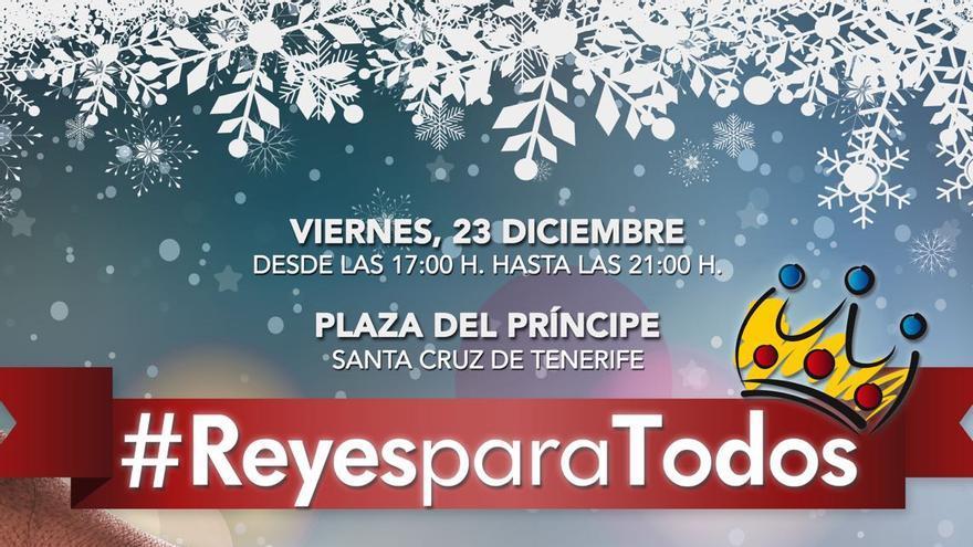 Cartel de 'Reyes para todos'