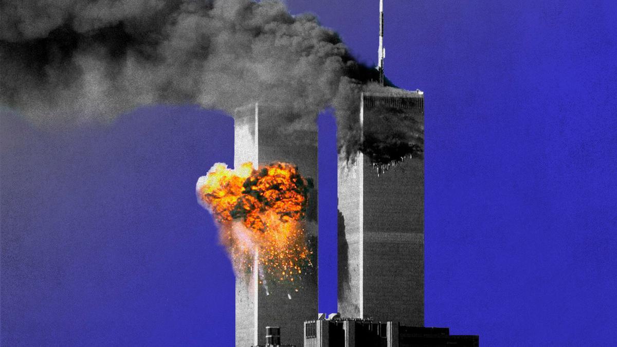 Las Torres Gemelas, el 11 de septiembre de 2001