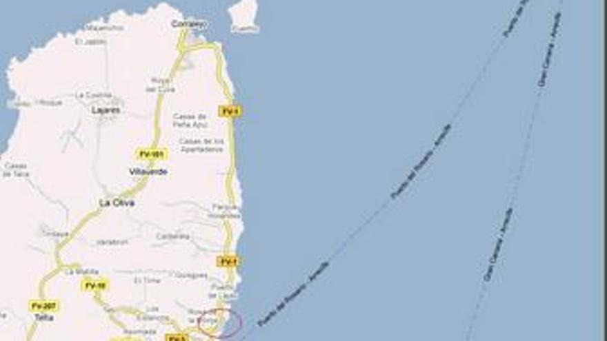 Señalado el lugar dónde se construirá el nuevo puerto.