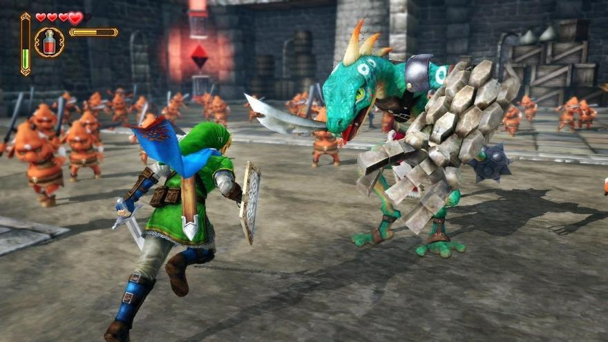 Hyrule Warrriors Wii U Japón DRL