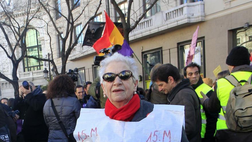 Yayoflauta en el 31-E \ Marta Jara