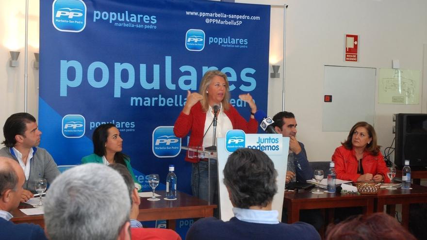 La alcaldesa de Málaga, Ángeles Muñoz. / Efe