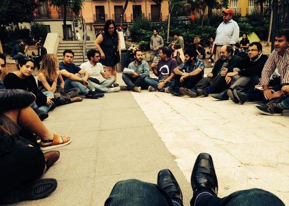 Asamblea del pasado jueves | @MALASANAPODEMOS