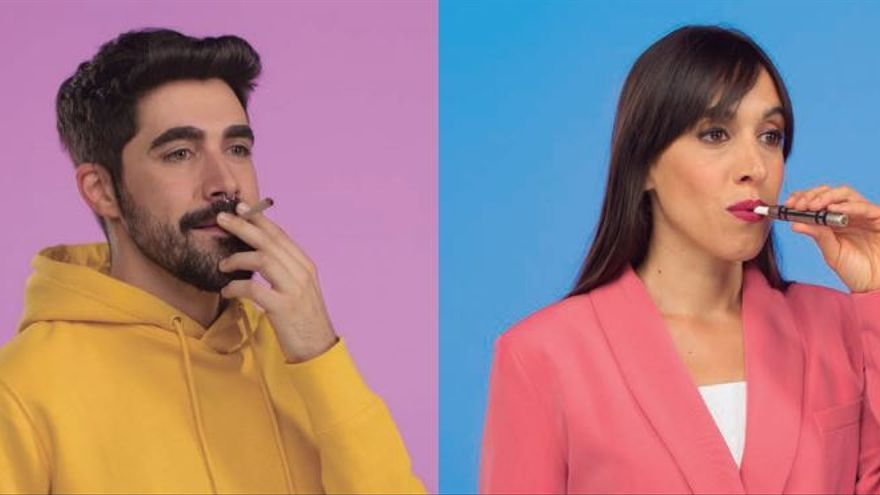 Imagen de la campaña del Ministerio de Sanidad 'El tabaco ata y te mata'.