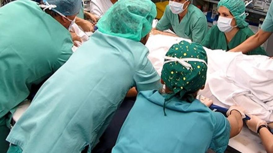 Personal de un centro sanitario público gallego