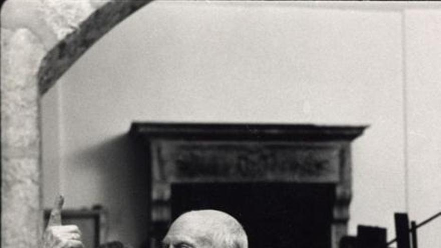 Pablo Picasso en una imagen de archivo.