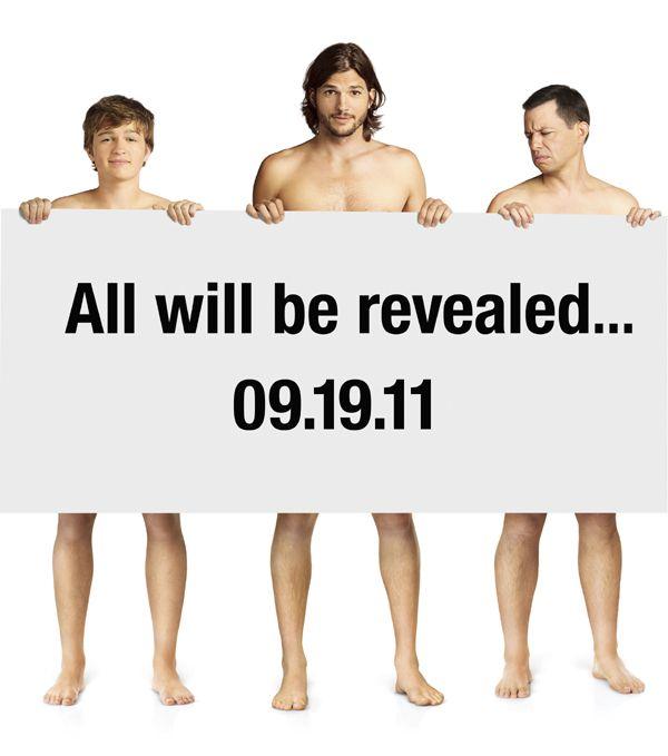 dos hombres y medio 6001 Primera imagen promocional del nuevo Dos hombres y medio