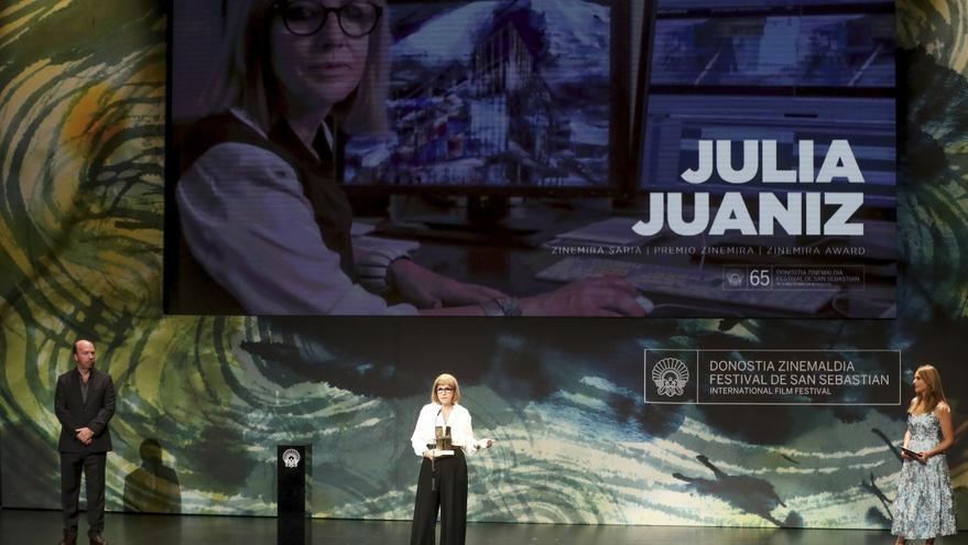 La montadora Julia Juaniz recibirá el Premio Ricardo Franco en Málaga