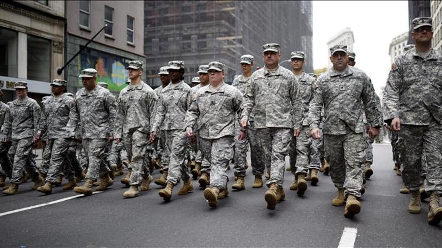 Gran desfile en Nueva York para rendir homenaje a sus veteranos de guerra