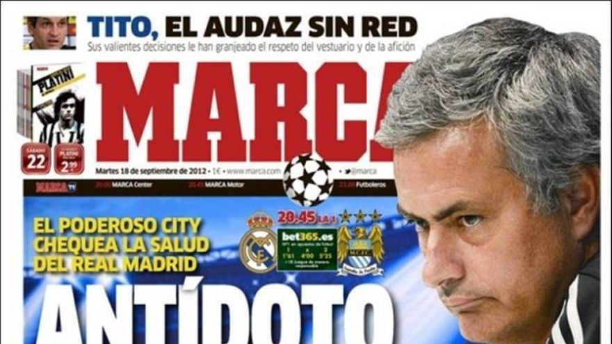 De las portadas del día (18/09/2012) #12