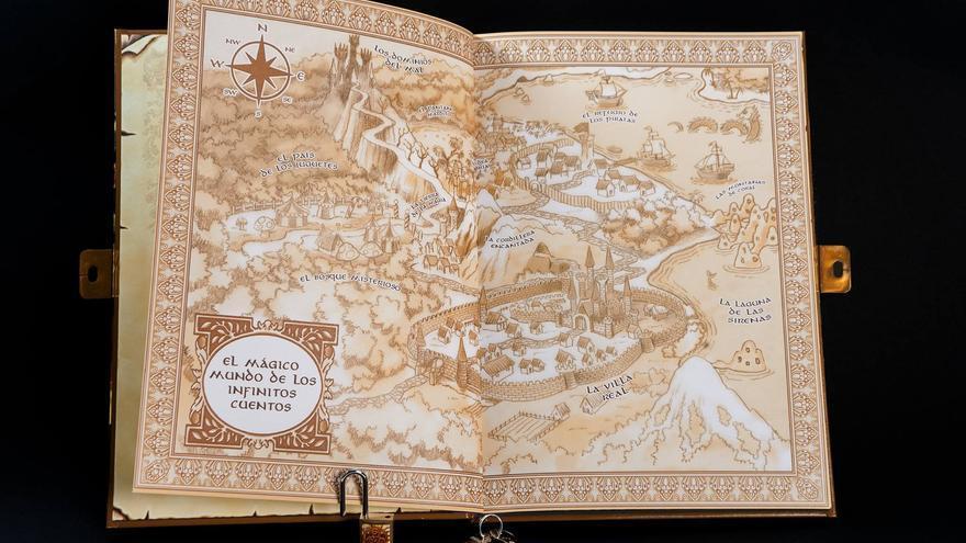 Mapa de 'El mágico libro de los infinitos cuentos'