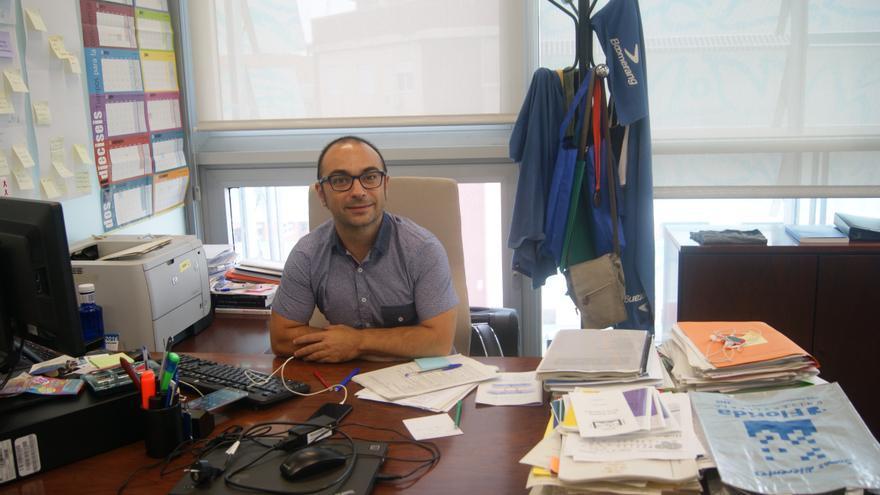 José De Lamo, director general de Igualdad en la Diversidad, en su despacho