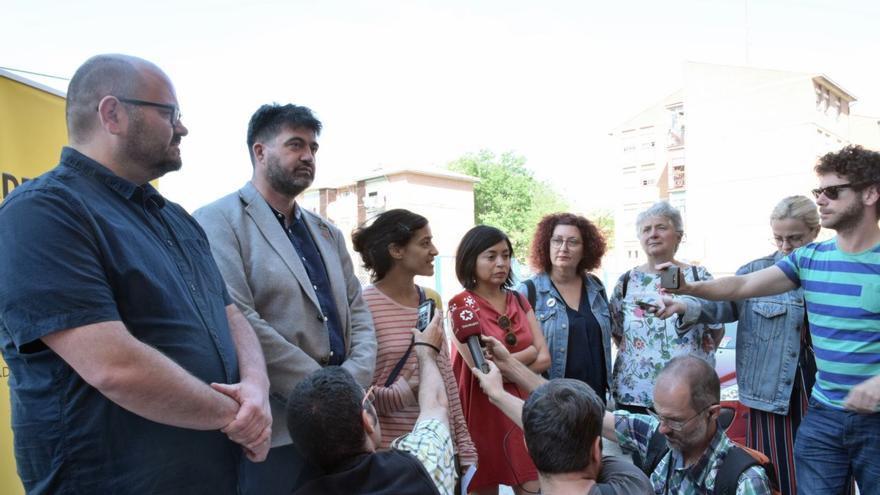 Los candidatos de Madrid en Pie.