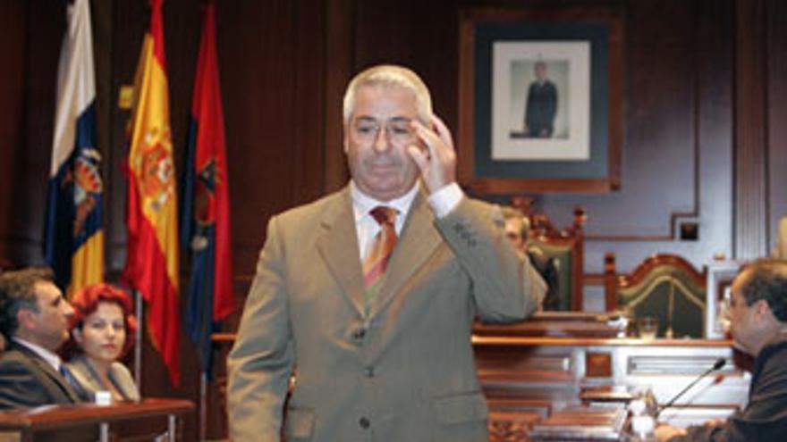 Francisco Aureliano Santiago Castellano, alcalde de Telde. (CANARIAS AHORA)
