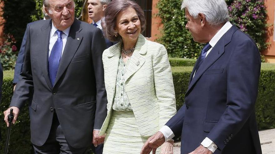 """Don Juan Carlos asegura que la Expo 92 demostró el """"empuje"""" de España"""