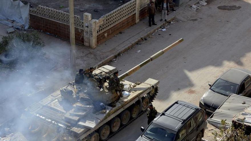 Al menos 6.455 muertos por ataques de la coalición contra el EI en Siria