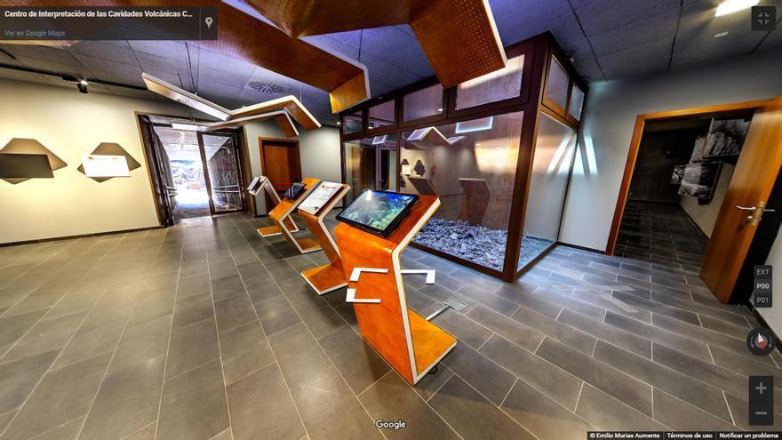 Visita virtual 360º al Centro de Interpretación 'Caños de fuego'.