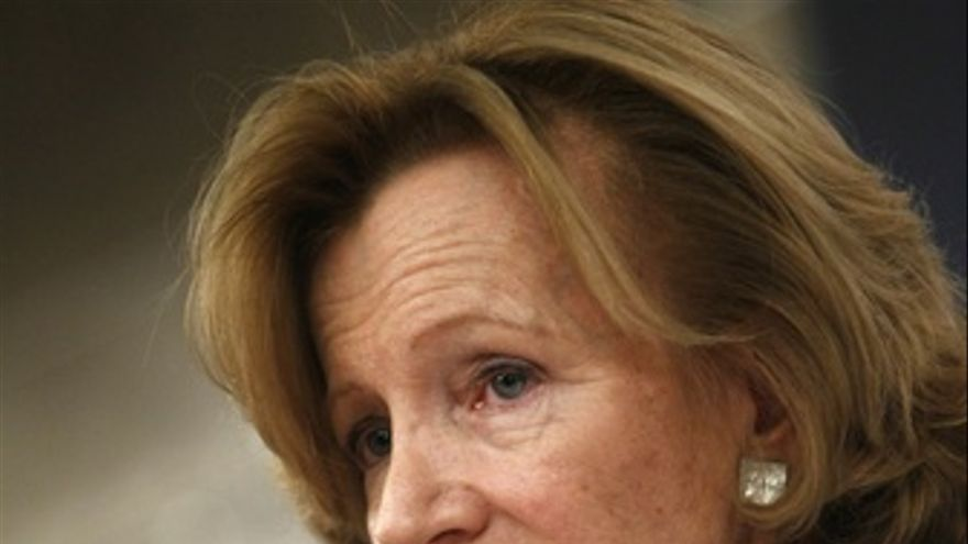 Ministra de Economía y Hacienda, Elena Salgado.