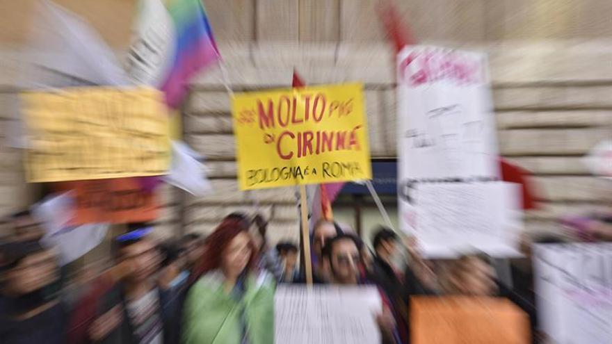 El texto sobre uniones gais en Italia encara su fase final en el Parlamento